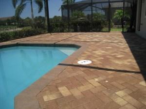 Sealed Pool Pavers