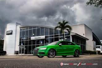 Exclusive Viper Green Audi S3