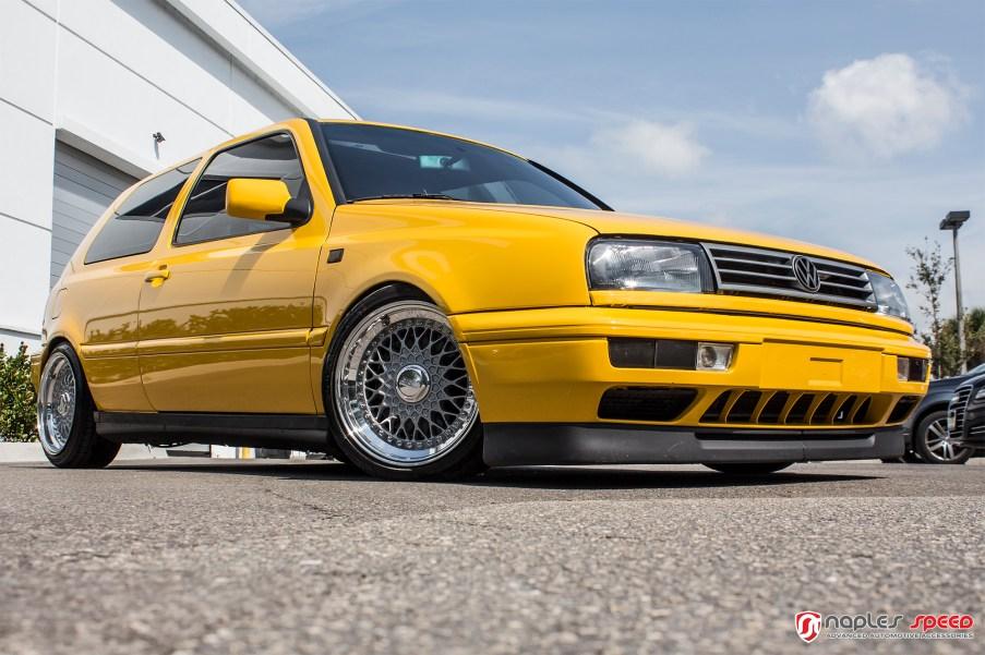 VW MK3 BBS RS