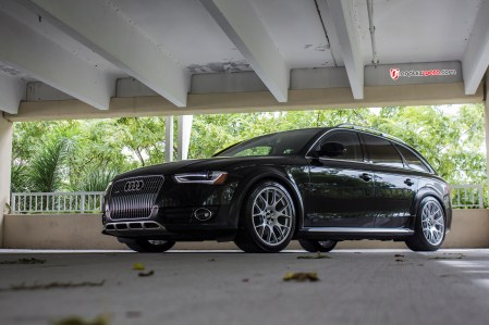 Audi Allroad with BBS wheels