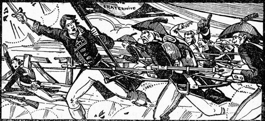 Bonaparte sur le pont d'Arcole (1796)