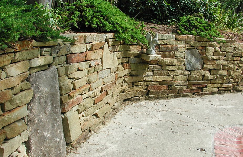 Landscaping Ideas | Backyard Patio| Stone Project ... on Patio Stone Wall Ideas id=90805