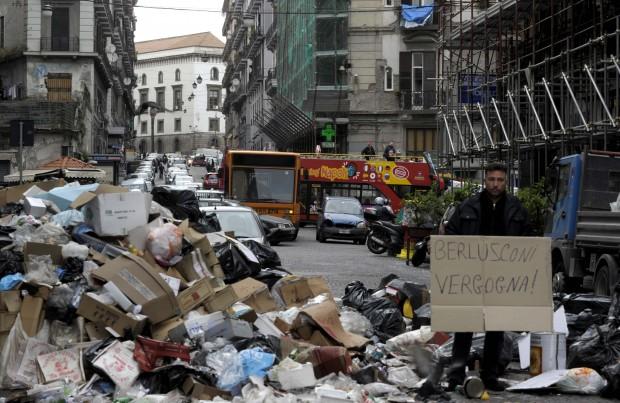 Le immagini delle rivolte