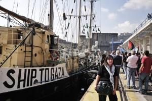 Estelle, salpa per Gaza la nave delle polemiche
