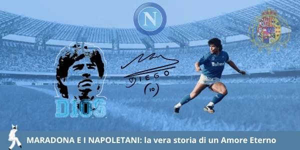 Maradona e i napoletani, la vera storia di un amore eterno tra il genio del calcio e il popolo napoletano.