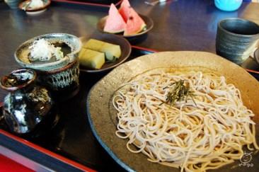 幸村庵で蕎麦を頂いて帰る。