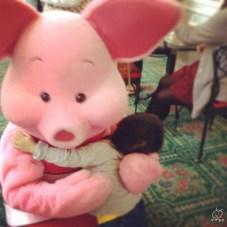 ピンクのブタさ~~ん!