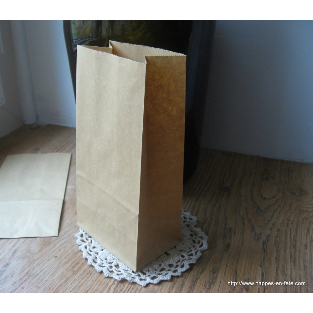Sachet Papier Kraft Pour Deco De Table