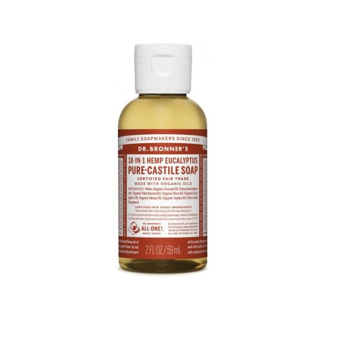 Pure-Castile Liquid Soap – Eucalyptus