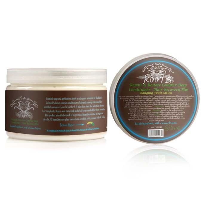 Roots Deep Conditioner, Repair & Recovery Plus