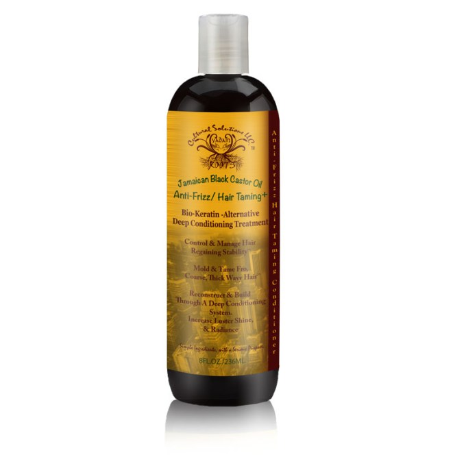 Jamaican Black Castor Oil Anti Frizz/ Hair Taming