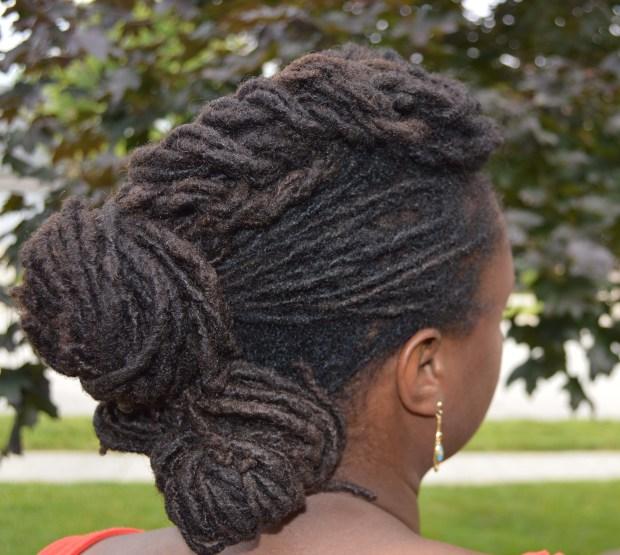interlocking hair style