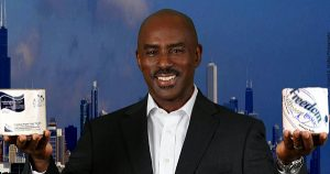 Kamose Muhammad, CEO and founder of Freedom Paper Company