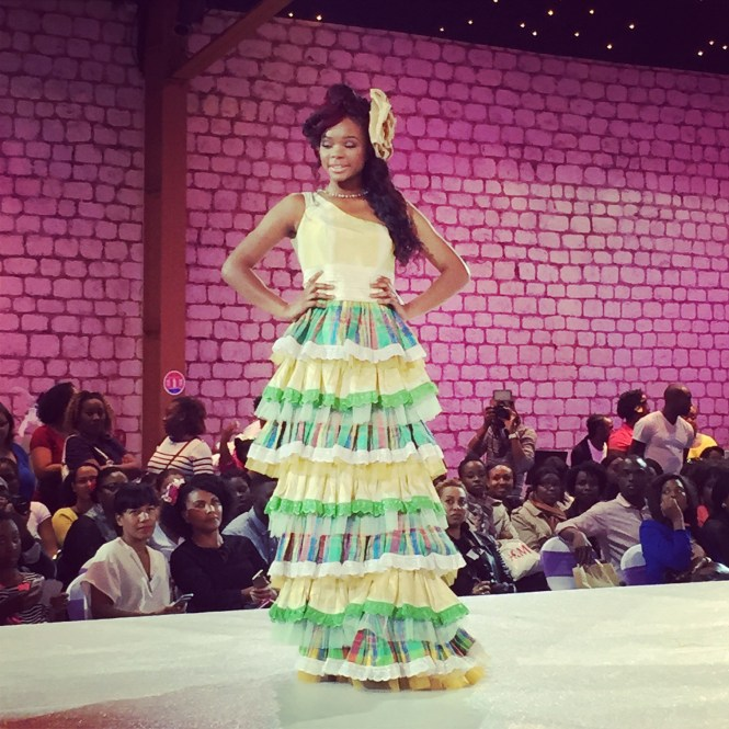 défilé1 - Afro Wedding Party - nappy pretty girl