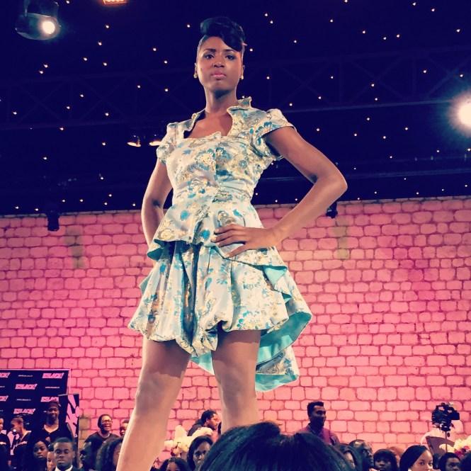 défilé3 - Afro Wedding Party - nappy pretty girl