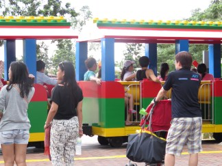 Train at Legoland