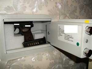 Правила хранения наследованного оружия