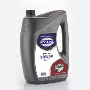 Nissanol Power Plus – 20w40 (CH-4)  – 5 Ltr