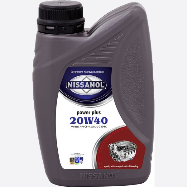NISSANOL POWER PLUS - 20W40 (CF-4) - 500 ML
