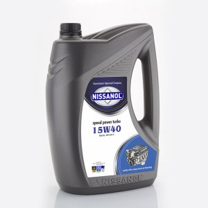 Nissanol Speed Power Turbo – 15w40 (CH-4) – 5 Ltr