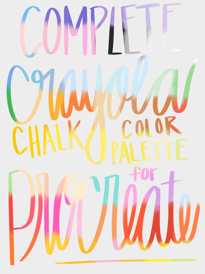 FREE Procreate Color Palettes | Nap Time Alternative