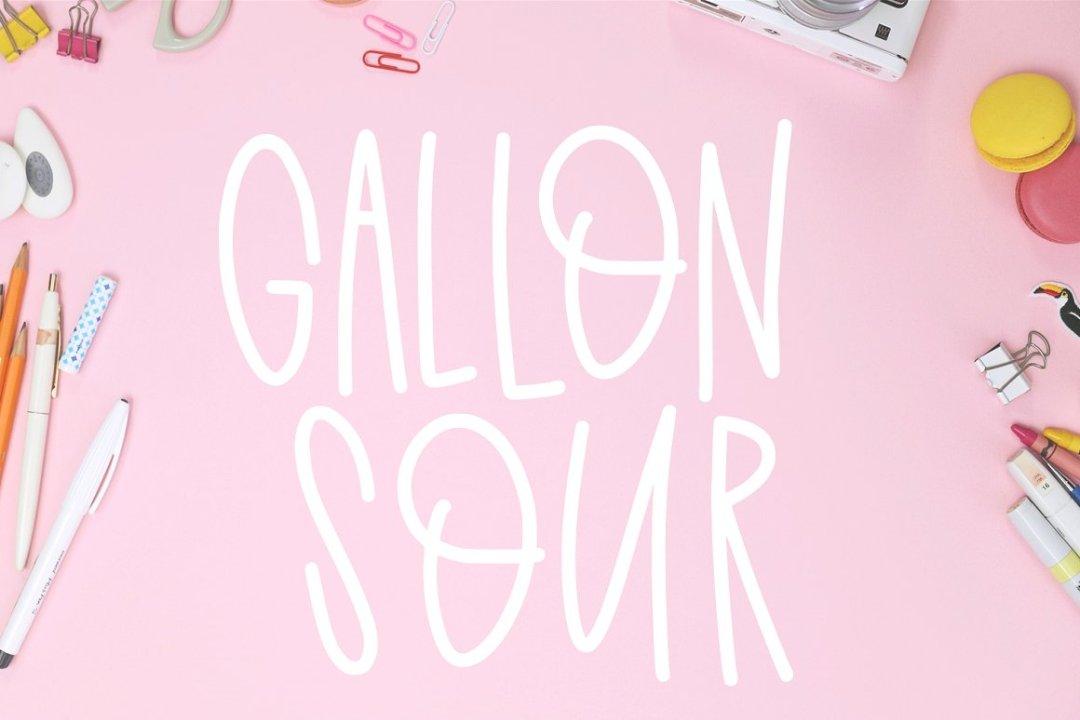 gallon sour