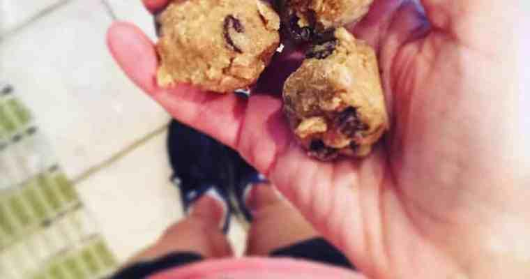 Addicting Cookie Dough Bites