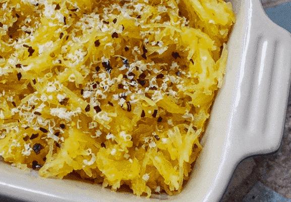Simple Roasted Spaghetti Squash