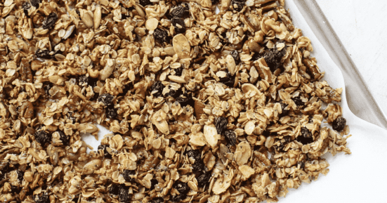 Most Delicious Spiced Granola