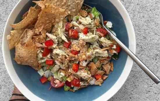 Spiraling UP with Southwestern Salad