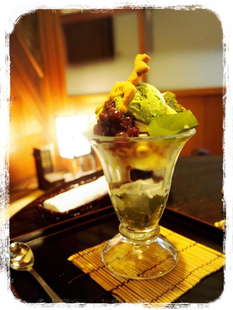 環奈 お抹茶パフェ850円
