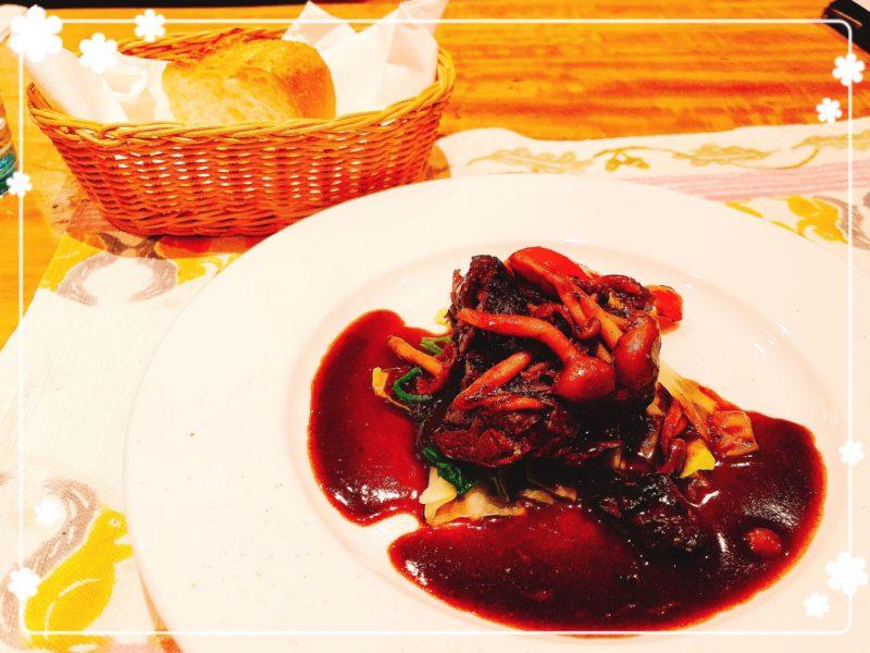 セヴ 牛頬肉のワイン煮込み