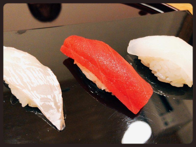 鮨處Wasabi 剣先 まぐろ 鯛