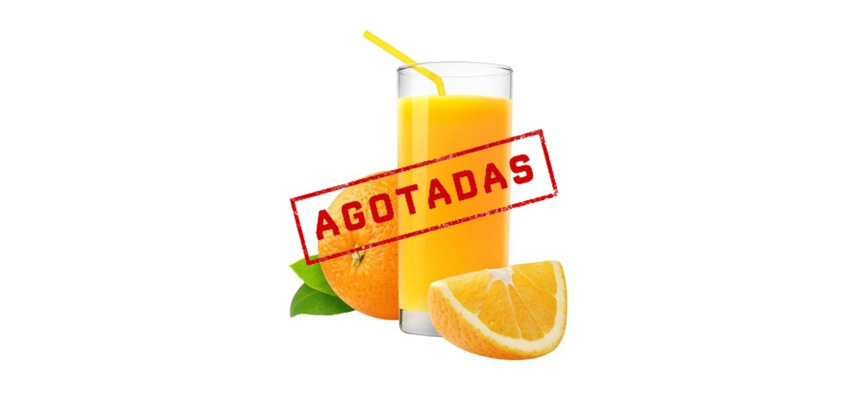 Agotadas las naranjas de zumo