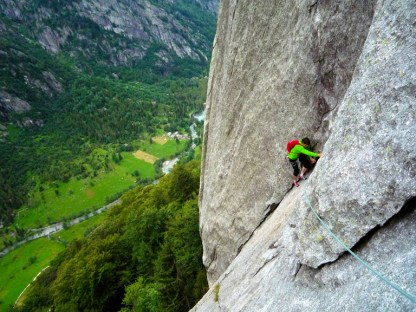 Ed following up the 6a+ P2