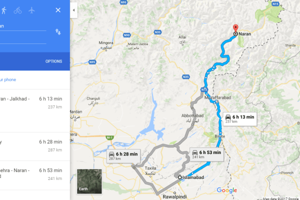 Onwards to the Northern Heaven: How to Travel from Islamabad to Naran