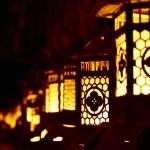 春日大社中元万燈籠と氷室神社氷献灯