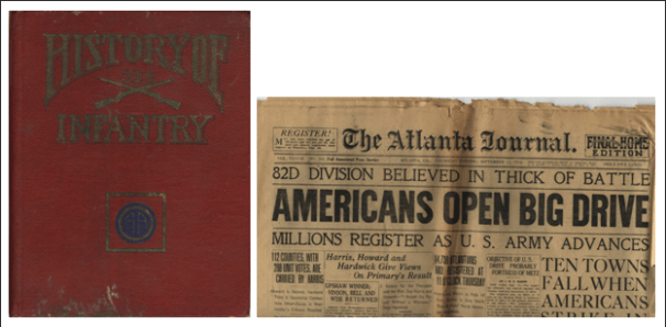 History of the 328 Infantry and The Atlanta Journal, September 12, 1918