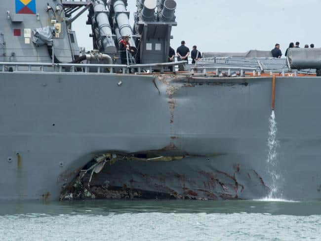 Exclusive: The new evidence Russian or Chinese hackers may have used cyber warfare in four deadly U.S. navy crashes that claimed as many as seventeen lives in the Pacific this year.