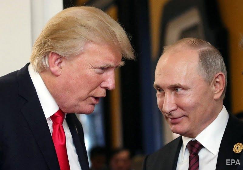 Donald Trump and Putin