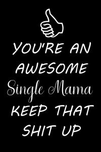 cover you're awesome single mama keep that shit up