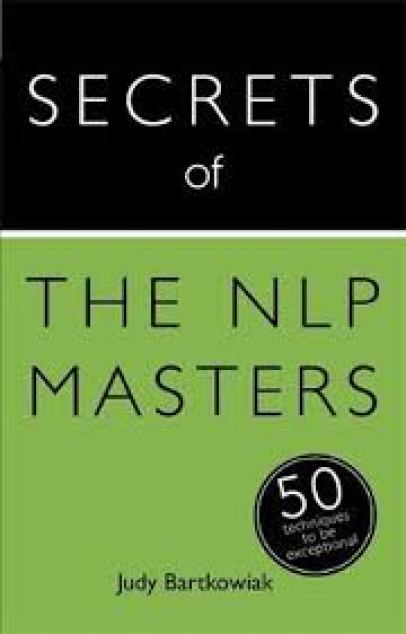 cover book secrets of nlp masters
