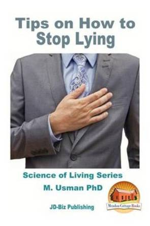 kenmerk van een gaslighter cover van het boek Tips on How to Stop Lying