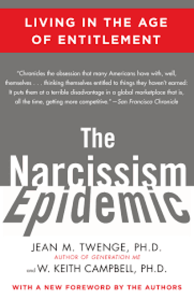 cover foto boek The narcissistic epidemic