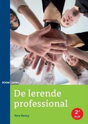 cover boek de lerende professional