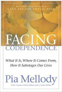 cover boek codependentie facing