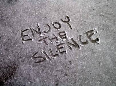 online cursus meditatie Enjoy the silence