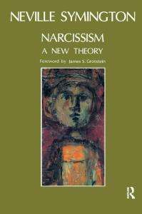 cover book neville Symington narcissism a new theory