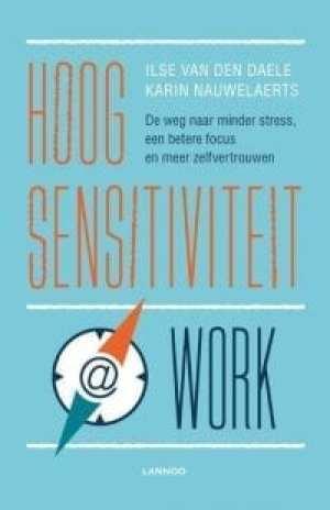 foto cover book Hoogsensitiviteit @ work de weg naar minder stress, een betere focus en meer zelfvertrouwen