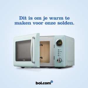 bol.com warm voor solden